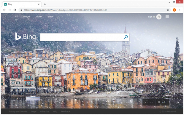 Bing redirect virus forces hits to the search engine against users' will