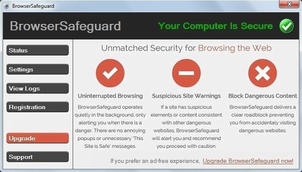 BrowserSafeguard app