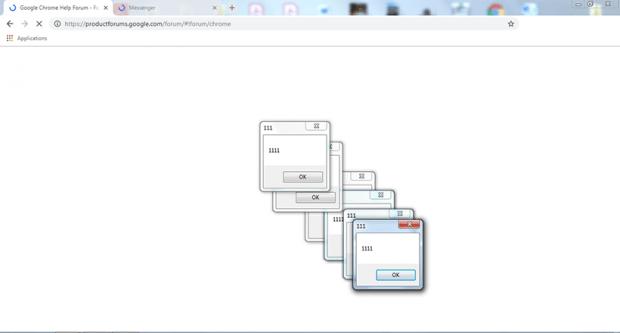 Chrome 1111 error virus diminishing user experience