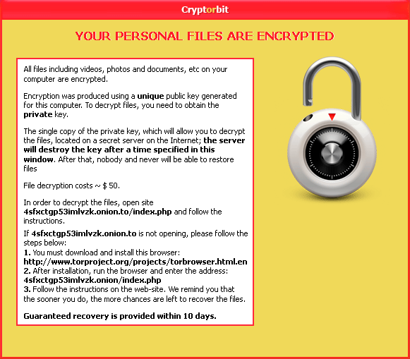 HowDecrypt.gif alert by CryptorBit
