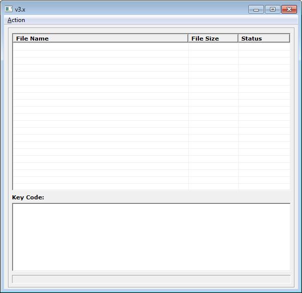 CryptXXX v3.x decryptor interface