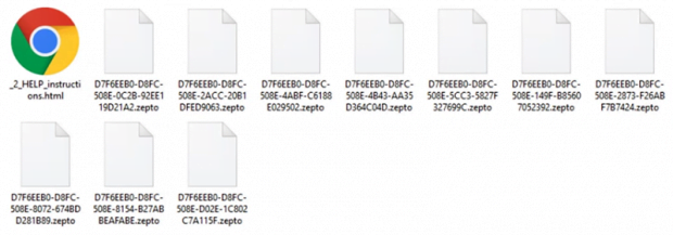 Encrypted .zepto files with _HELP_instructions.html in the folder