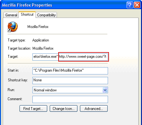 Fix Mozilla Firefox shortcut settings