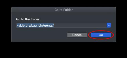 Go to the Folder