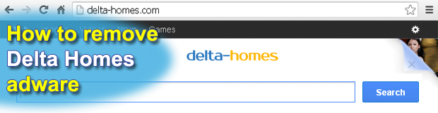 Remove Delta-homes.com adware. Delta Homes virus removal for Chrome/Firefox/Internet Explorer