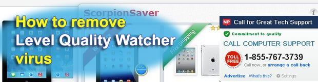 How to remove Level Quality Watcher virus