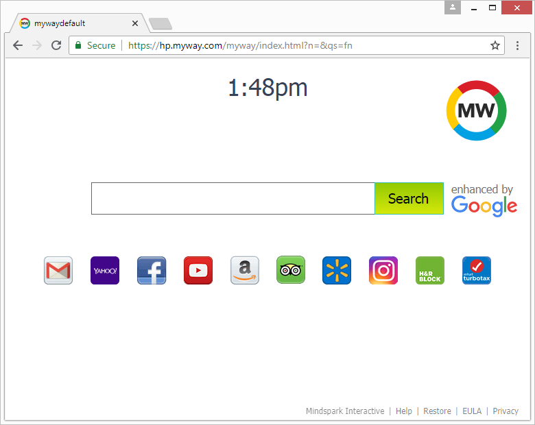 Remove MyWay Search engine virus from Chrome, Firefox, IE