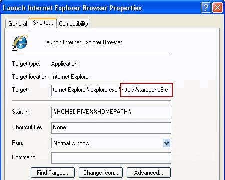 ie-shortcut-properties