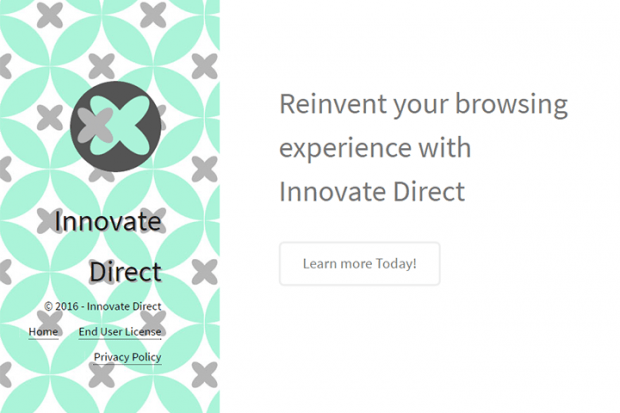 The website of Innovate Direct isn't much use in terms of product information