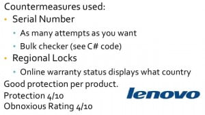 Lenovo example