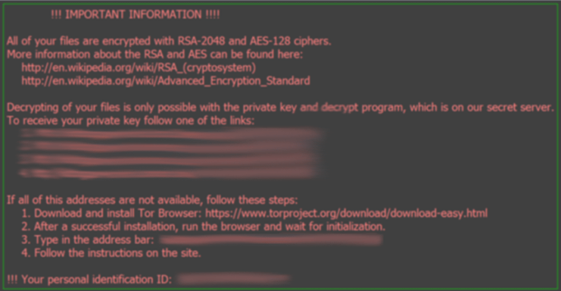 Desktop wallpaper changed to _Locky_recover_instructions.bmp