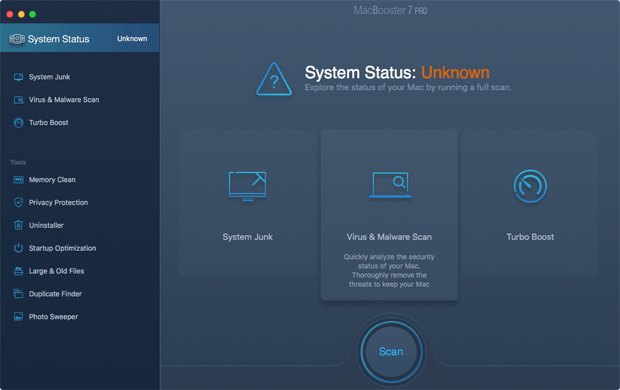 MacBooster System Status