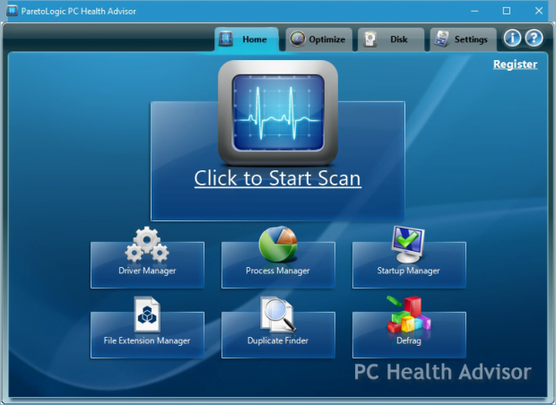 PC Health Advisor GUI