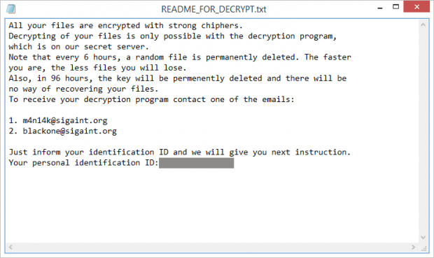 README_FOR_DECRYPT.txt ransom note added by CryPy