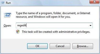 Access Registry Editor