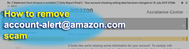 Account-alert@amazon.com scam – phishing emails on the rise