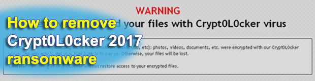 Crypt0L0cker 2017 decryption tool and virus removal