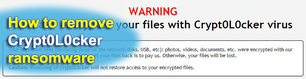 Decrypt Crypt0L0cker virus: Crypt0L0cker removal and file recovery