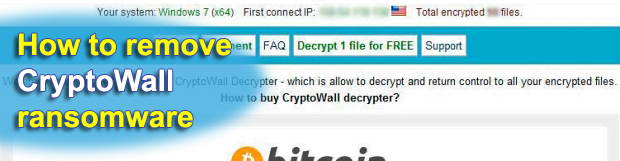 CryptoWall virus removal: how to decrypt Cryptowall 2.0 encrypted files