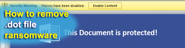 .DOT file virus: spam delivering malicious .dot extension attachments