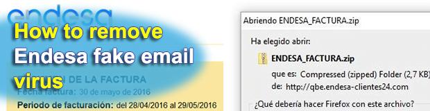 Endesa fake virus emails spread Cryptolocker/Locky ransomware