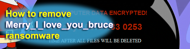 Merry_I_love_you_bruce ransomware removal and .merry files decryptor