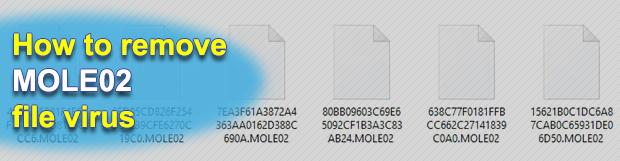 MOLE02 virus ransomware: how to decrypt .mole02 extension files