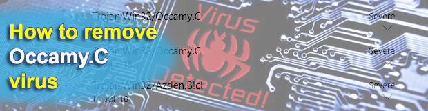 Remove Occamy.C virus (Trojan:Win32/Occamy.C)