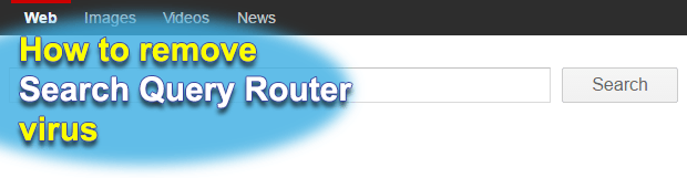Remove Query Router virus (search queryrouter com search