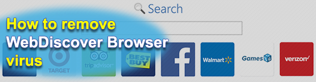 How to remove WebDiscover Browser virus