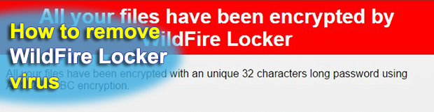 WildFire Locker ransomware virus removal: decrypt .wflx extension files