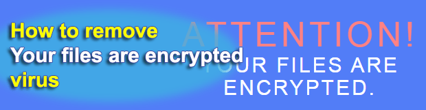 """Your files are encrypted"": Microsoft Decryptor ransomware virus"