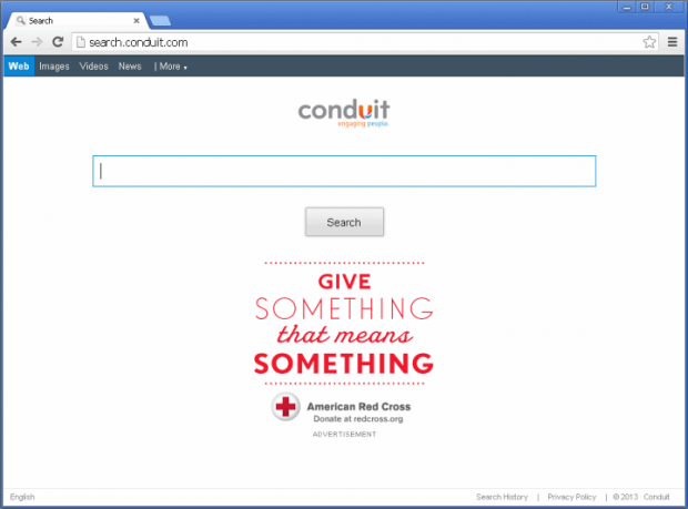 Search.conduit.com screenshot
