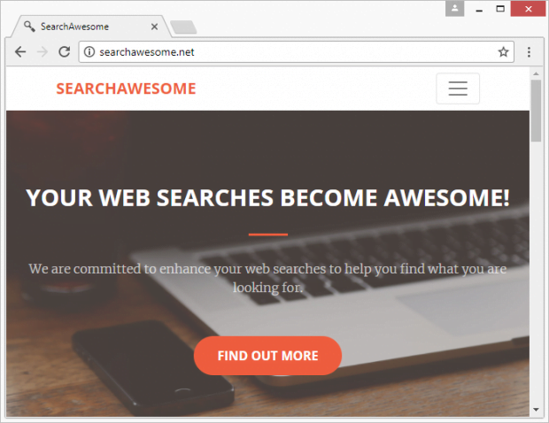 SearchAwesome homepage says the service is useful to the bone