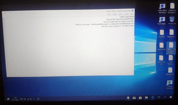 Softdecrypt@firemail.cc / maxspeed-dcr@tutamail.com Rapid ransomware attack underway