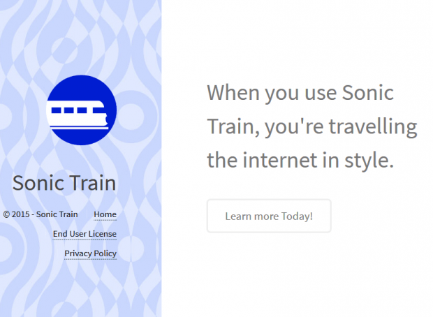 Whatever its site says, Sonic Train is not there to facilitate anything online