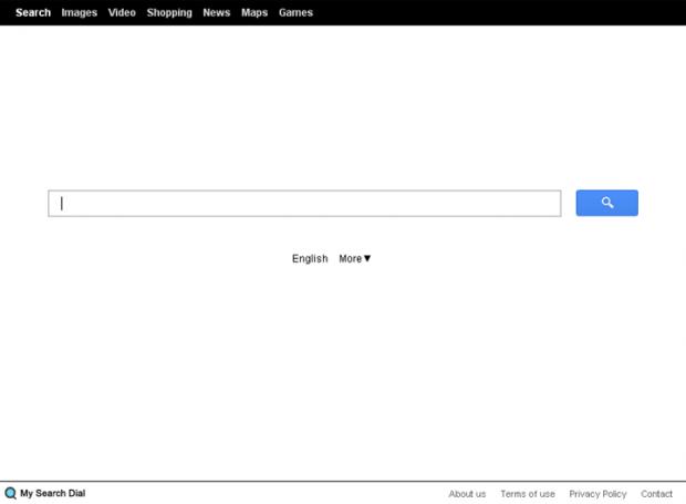 Start.mysearchdial.com homepage screenshot