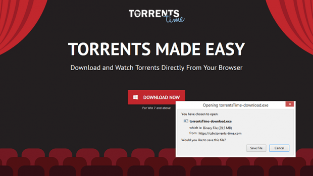 Torrents Time project features fancy marketing but it's full of controversies