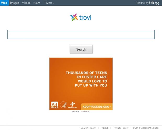 Trovi.com screenshot