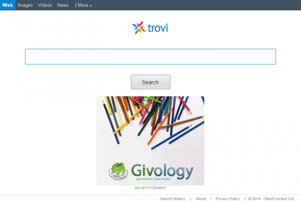 Trovigo.com screenshot