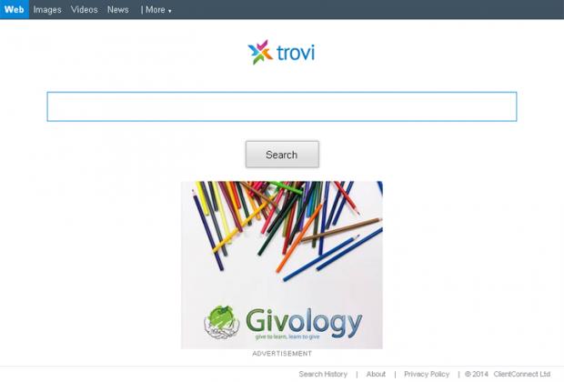 Trovigo.com screenshot