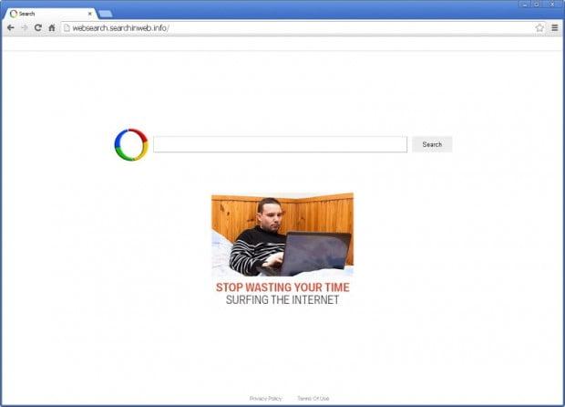Websearch.searchinweb.info homepage screenshot